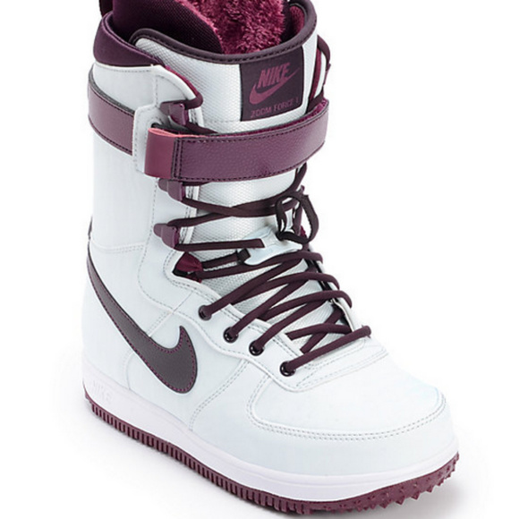 Nike Zoom Force 1 Wind & Wine Snowboard Boots